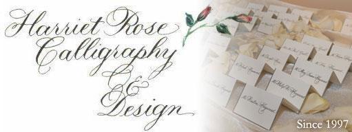 Rose Calligraphy Design